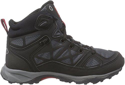 Viking ASCENT JR. GTX - botas de senderismo de material sintético Niños^Niñas negro - Schwarz (Black/Red 210)
