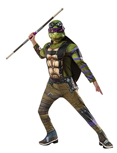 Rubie's Costume Kids Teenage Mutant Ninja Turtles 2 Deluxe Donatello Costume, (Tmnt Womens Raphael Costumes Top)