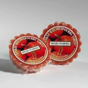 (Spiced Pumpkin Yankee Candle Tarts (6 pack) by Yankee Candle)