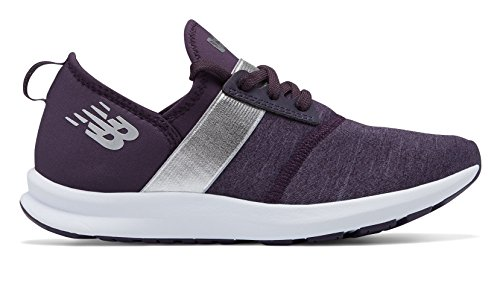 Shoes Wxnrgv1 Balance Elderberry Fitness Women New Silver qIwgC