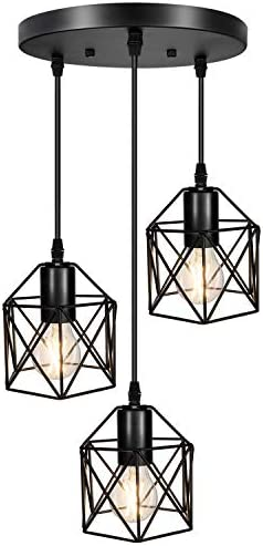 Industrial 3-Light Pendant Lighting