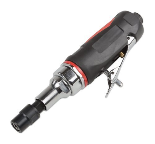 ATE Pro. USA 13027 1/4'' (6MM) Mini Extended Air Die Grinder (1'' Shaft) by ATE Tools