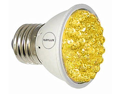 RubyLux All Yellow Amber LED Light Therapy for Rosacea