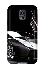 Ideal Kevin S Anderson Case Cover For Galaxy S5(murcielago R Gt Front Black Lights Cars Lamborghini), Protective Stylish Case