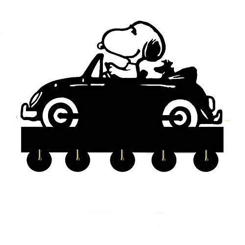 Snoopy Key Holder, Key Hanger, Wall Key Rack, Wall Key Holder, Key Holders, Personalized Gift, Home, Housewarming Gift, Wedding Gift (H9) (Personalized Snoopy Gifts)