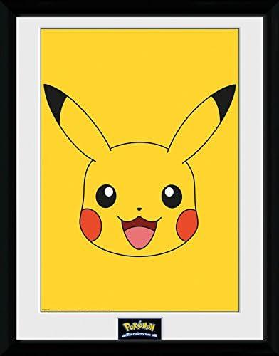 GB Eye LTD, Pokemon, Pikachu, Fotografia Enmarcada, 40 x 30 cm ...