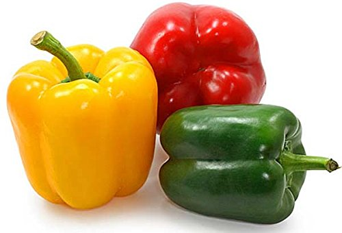 Pepper Sweet - Seeds Sweet Pepper Rainbow Bell Red Mix Organic Heirloom Ukraine