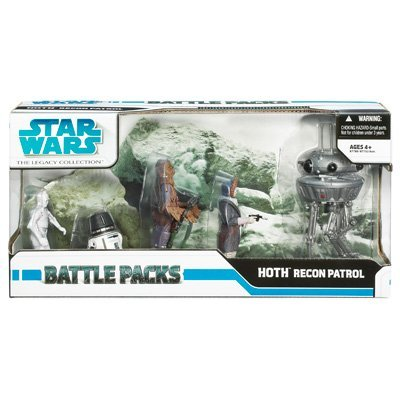Star Wars Clone Wars Exclusive Action Figure Battle Pack Recon Patrol on Hoth