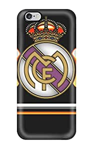 Hot 5180499K10450546 For Iphone 6 Plus Tpu Phone Case Cover(real Madrid Fc Logo)