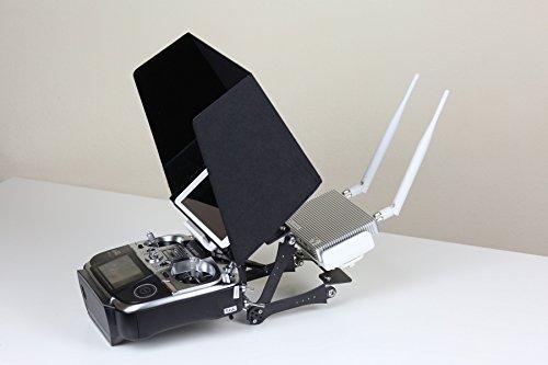 Summitlink Dji Lightbridge Mounting System Black Sunshade For 10 Inch Ipad Tablet