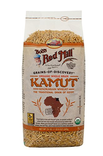 Bobs Red Mill Organic Whole Grain Kamut 24 oz