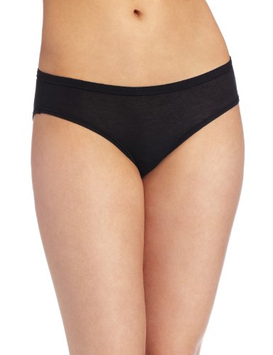 Wacoal Women's B-fitting Bikini Panty, Black, One Size