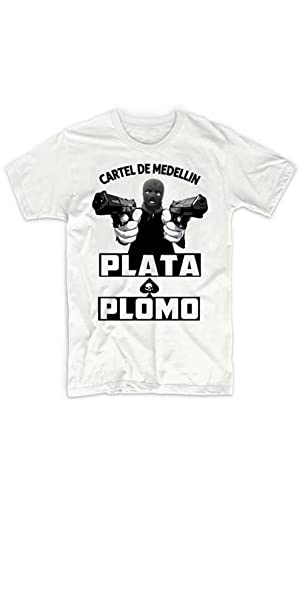 Rancid Nation Pablo Escobar Medellin Cartel Kingpin T-Shirt ...