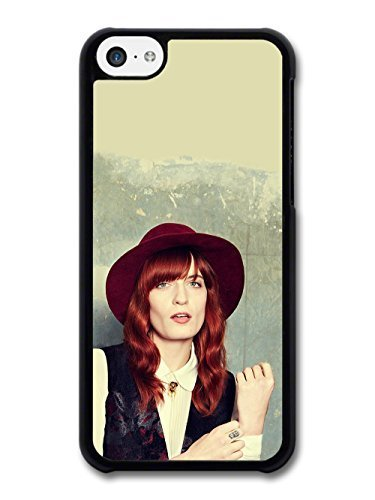 AMAF © Accessories Florence + the Machine with Red Had and Red Hair and Vest case for iPhone 5C (Vest Robin)