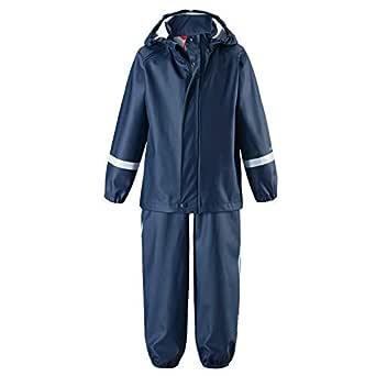 Reima regnställ barn jacka och byxor Tihku Mörkblå strl 98