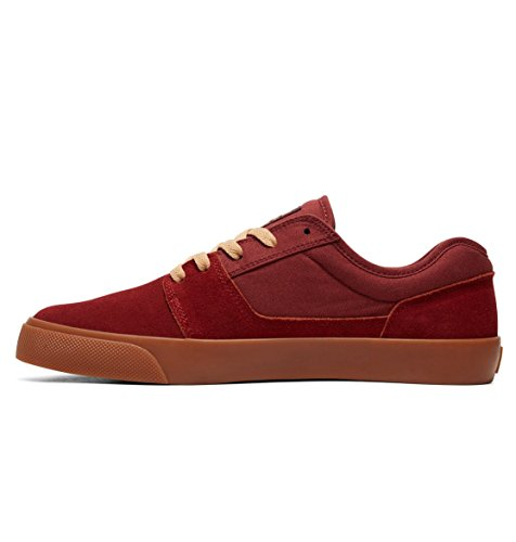 hombre para DC Shoes Dark TONIK D0302905 ante de Red SHOE Zapatillas nf8H8rq0w