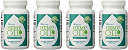Manitoba Harvest Hemp Oil, 60 Softgel Capsules (Pack of 4)