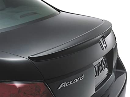 Honda Accord Sedan Lip Spoiler Painted in the Factory Paint Code of Your Choice 280 NH603P with 3M tape included Spoiler and Wing King ®