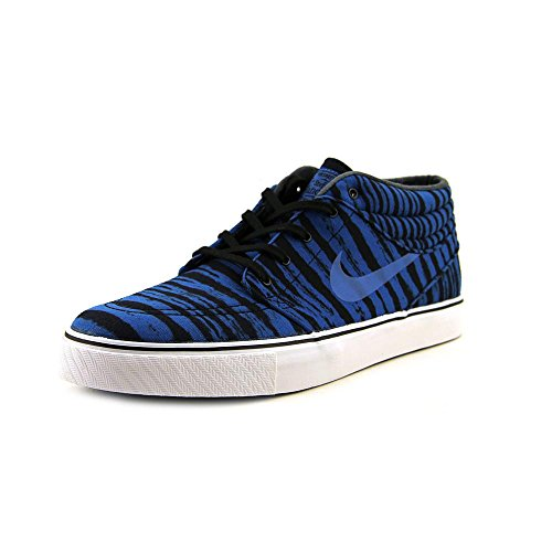 Nike hombres Stefan Janoski Mid Prm azul Sneakers 11 M US