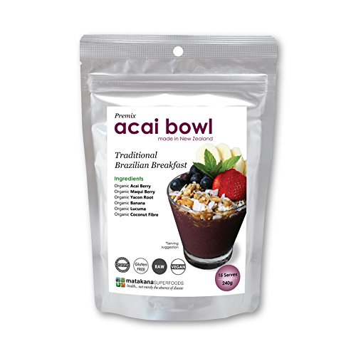Matakana SuperFoods Acai Bowl Premix - Amazonian Superfood, 8.4 Ounces, 15 servings By New Zealands #1 Superfood company Matakana Superfoods Ltd
