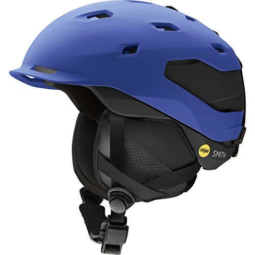 Smith Optics Quantum Adult Mips Ski Snowmobile Helmet - Matte Klein Blue / Large (Helmet Quantum Mens)