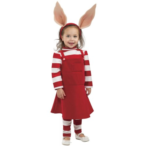 Deluxe Olivia Costume - (Olivia Toddler Costumes)