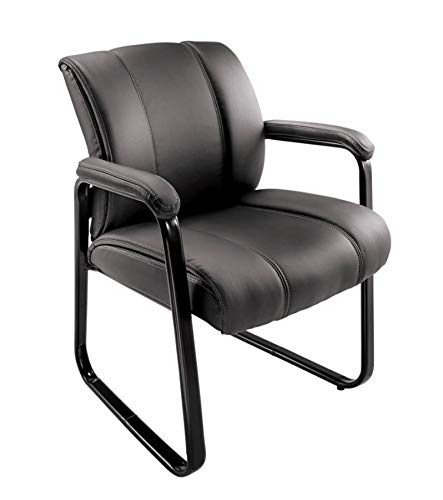 Brenton Studio Bellanca Guest Chair, Black