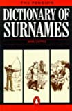 img - for The Penguin Dictionary of Surnames (Penguin Reference Books) by Basil Cottle (1984-08-07) book / textbook / text book