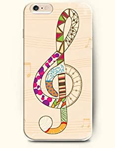 SevenArc Phone Case for iPhone 6 Plus 5.5 Inches with the Design of Beautiful Music Note