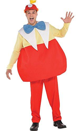 Tweedledee And Tweedledum Costumes (HalloCostume Adult Tweedledee & Tweedledum Costume - Alice in Wonderland)