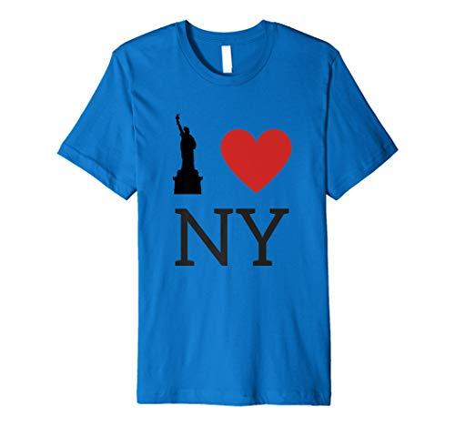 I Love NY, I Love New York T-Shirt with Statue of Liberty