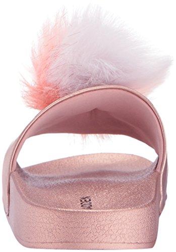 Slide Steve Rose Gold Spiral Women's Sandal Madden Prqxr6w1t
