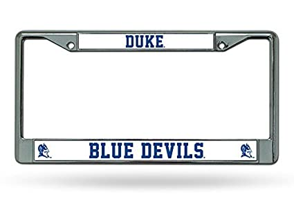 Amazon.com : Rico Industries NCAA Duke Blue Devils Chrome License ...