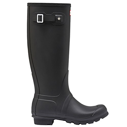 Womens Hunter Original Tall Wellington wasserdichte Winter Schnee Regen Stiefel Jäger Schwarz