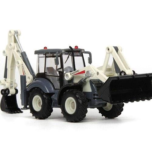 TBFEI 1:50 Scale Diecast Tow Truck Wrecker Road Models Model Construction VehiclesBulldozers, Excavators, Trucks, Road Rollers, Forklifts, Two-Way Rope Chippers ( Color : Two-Way excavators )