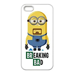 GoshoppingGo The Breaking Bad Minion For IPhone 5/5S Best Rubber Case