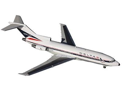 Gemini Jets B727-100 Delta Widget Livery Aircraft Diecast Vehicle, Scale 1/200