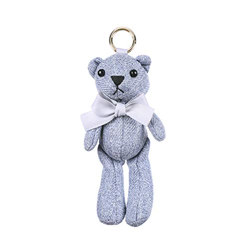 Cute Animal Handmade Bunny/Bear Keychain Stuffed Animals
