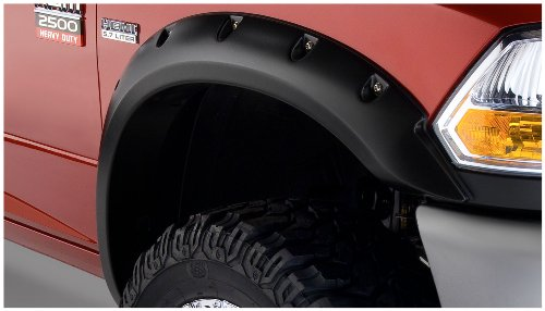 Bushwacker 50919-02 Dodge Pocket Style Fender Flare - Set of 4 ()