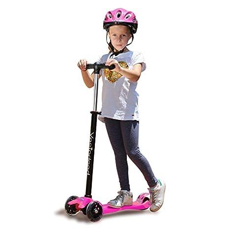 Amazon.com: YESINDEED - Patinete para niños con luz ...
