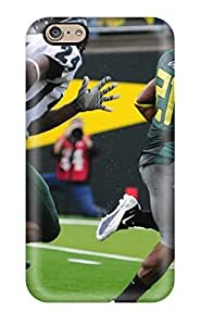 Iphone 6 Case Slim [ultra Fit] Attractive Oregon Ducks Football Sports Geekery Protective Case Cover