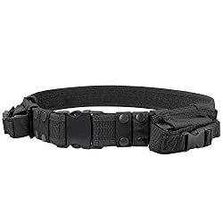 Condor Tactical Belt (Black, Up to 44-Inch Waist) Review
