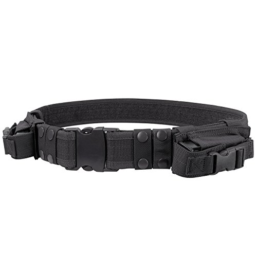 - Condor Tactical Belt (Black, Up to 44-Inch Waist)