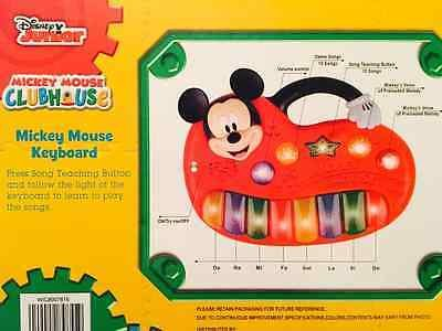 Mickey Mouse Clubhouse Teaching Keyboard - Disney Junior