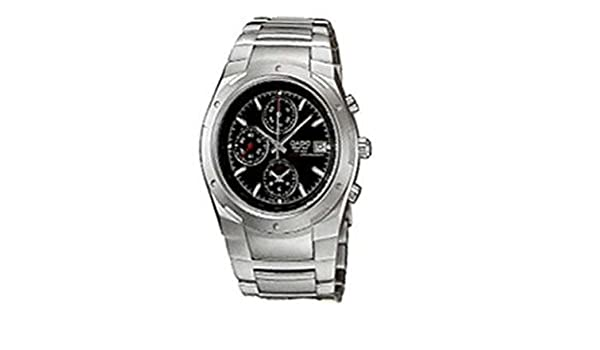 0508e7244175 Amazon.com  Casio Edifice Men s Stainless Steel Dress Watch EF-511D-1AVDF  Alarm Chronograph  Watches