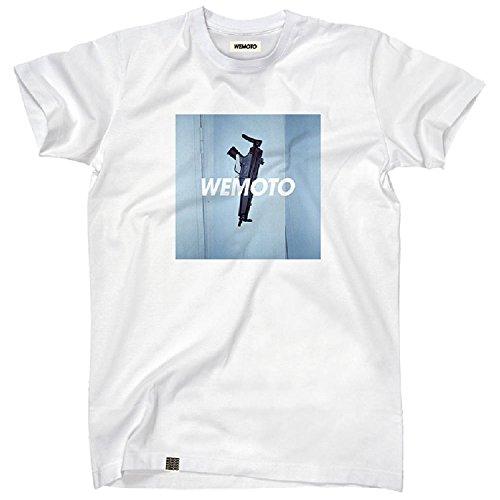 Wemoto Herren T-Shirt Gun - White