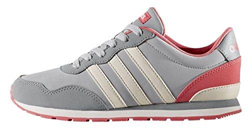 adidas V Jog K, Zapatillas de Deporte Unisex Niños, Gris (Gridos/Griper/Gritre), 38 EU
