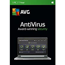 AVG TECHNOLOGIES Antivirus, 3 PCs, 1 Year