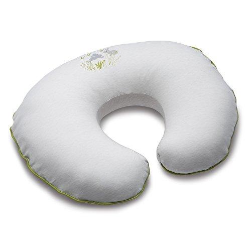 Boppy Pillow Slipcover, Organic Playful Rabbits, Gray