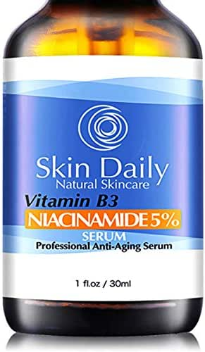 Niacinamide Vitamin B3 Cream Serum for Face 5%- 1 Oz - Visibly Beautify Pores and Wrinkles and Other Signs of Aging - Superior Moisturizing Skin Brightening Facial Serum - Your Friends Will Notice (1o